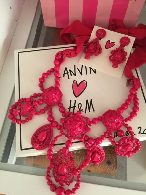 Lanvin for H&M Statementkette & Ohrringe mit Box