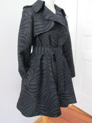 Lanvin for H&M Trenchcoat Mantel schwarz Gr. 34/36