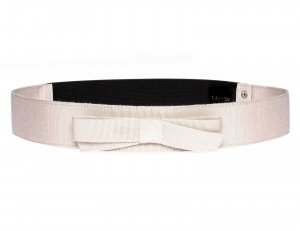 Lanvin Belt beige mixture fibre