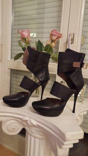 Lanvin High Heel schwarz sexy Leder