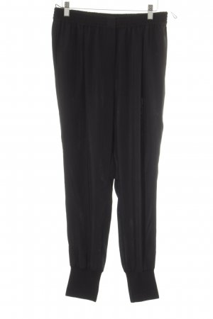 Lanvin High-Waist Hose schwarz Casual-Look