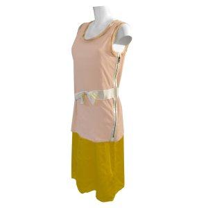 Lanvin Kleid aus Baumwolle und Seide, Gr. M