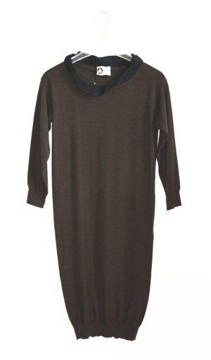 Lanvin Kleid Knit Strickkleid Neu m. Etikett Marron Wool Size S