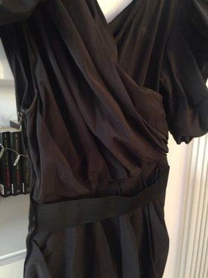 Lanvin Kleid schwarz Gr 38 M extravagant
