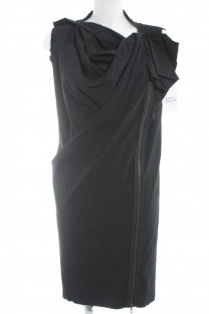 Lanvin Kurzarmkleid schwarz Elegant