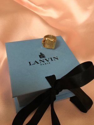 Lanvin Statement Ring gold-colored