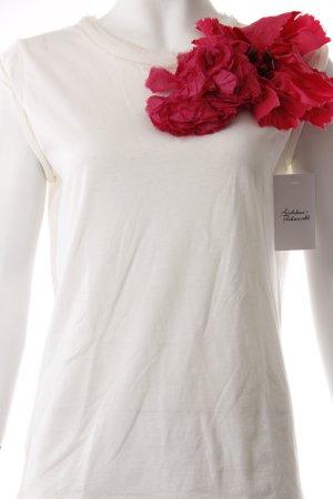 Lanvin Shirt Blumen creme
