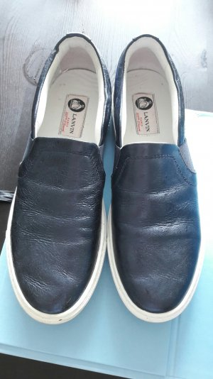 Lanvin Slipper Slipons Sneaker Slipon Sneakers Metallic 39