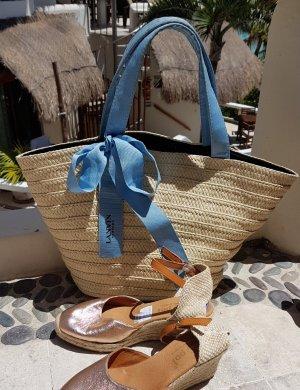 lanvin Strohtasche Beachbag Strandtasche Sommer Tasche