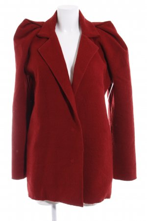 Lanvin Cappotto invernale rosso scuro stile casual