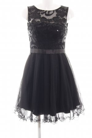 Laona Abendkleid schwarz Blumenmuster Elegant