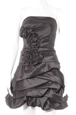 Laona Abendkleid anthrazit Ethno-Look