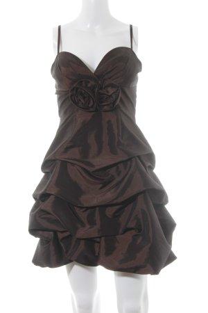 Laona Abendkleid schwarzbraun Elegant