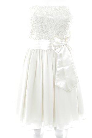 Laona Balloon Dress cream elegant