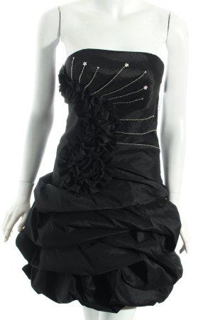 Laona Ballonkleid schwarz Elegant