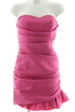 Laona Bandeaukleid pink Elegant