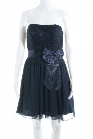 Laona Bandeaukleid dunkelblau-blau Elegant