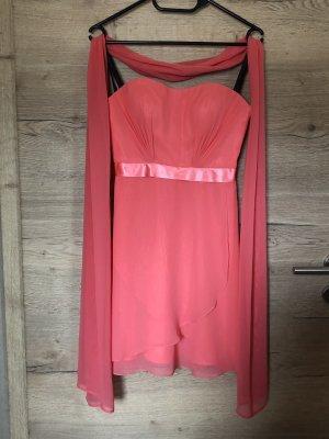 Laona Bandeaukleid-Kleid und Stola, Größe XS