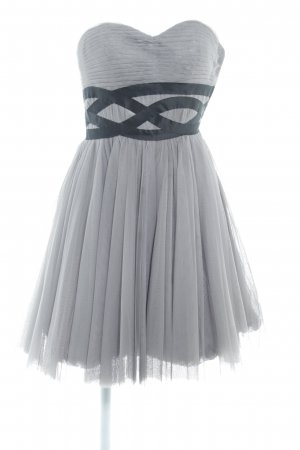 Laona Bustierjurk grijs-zwart elegant