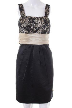 Laona Bustierkleid schwarz-creme Elegant