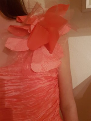♡Laona Cocktailkleid♡ coral one shoulder