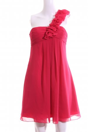Laona One Shoulder Dress red elegant