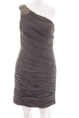 Laona One-Shoulder-Kleid hellgrau-braun Elegant
