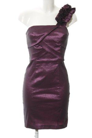 Laona One-Shoulder-Kleid brombeerrot Elegant