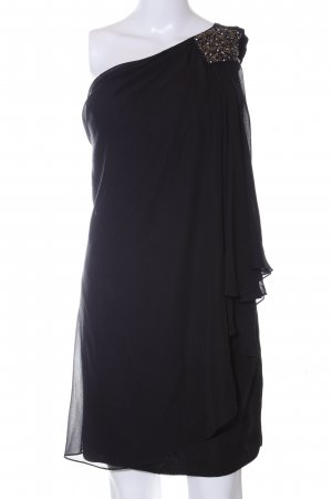 Laona One-Shoulder-Kleid schwarz Elegant