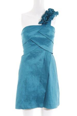 Laona One-Shoulder-Kleid türkis Elegant