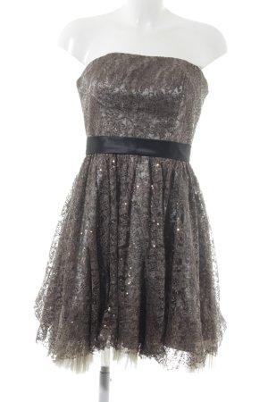 Laona Pailettenkleid bronzefarben-schwarz Elegant
