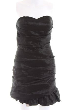 Laona schulterfreies Kleid schwarz Elegant