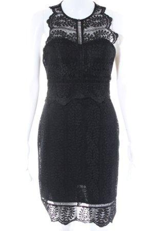 Laona Spitzenkleid schwarz Elegant