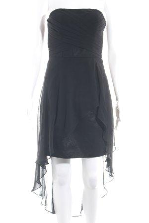 Laona Vokuhila-Kleid schwarz Elegant