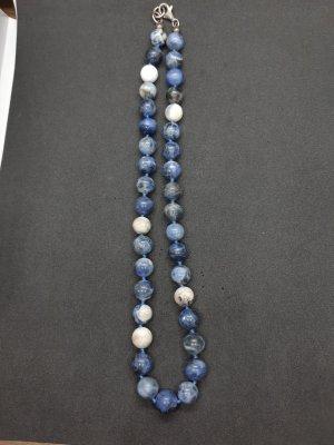 Lapiz Azul Steinkette mit Silberverschluss