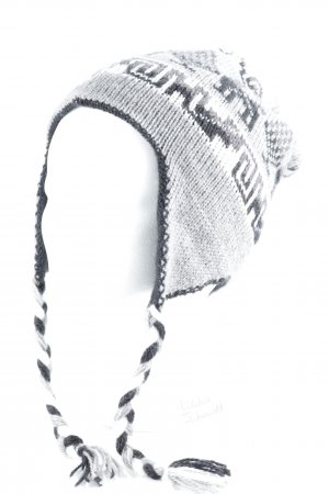 Lapland Hat abstract pattern 2-in-1 look