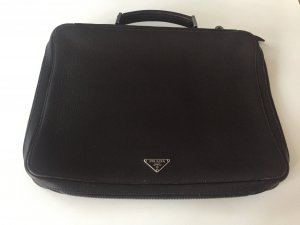 Prada Borsa pc marrone scuro