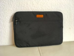 Laptop bag black-brown
