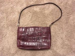 Laptop bag brown red