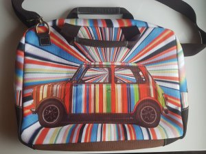 Paul Smith Sacoche d'ordinateur multicolore