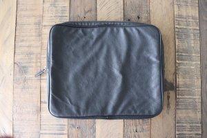 Laptoptasche Leder schwarz H&M