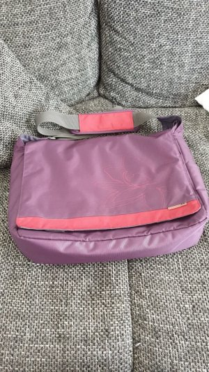 AHA-Fashion Borsa pc viola-rosso scuro Poliestere