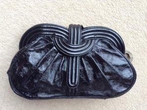 Lara Bohinc schwarze Lederclutch