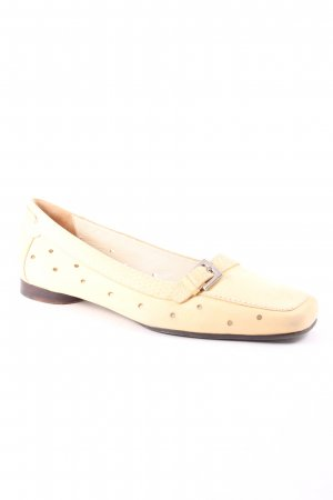 Lara Manni Slippers cream casual look