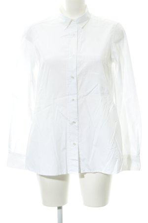 Lareida Langarm-Bluse weiß Elegant