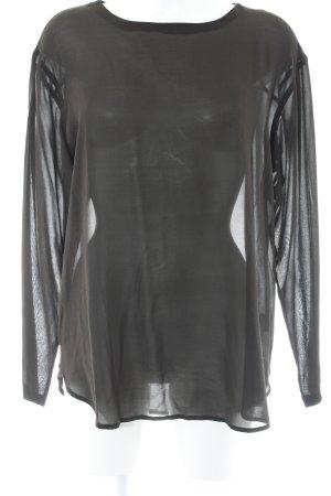 Lareida Tunikabluse schwarzbraun Elegant