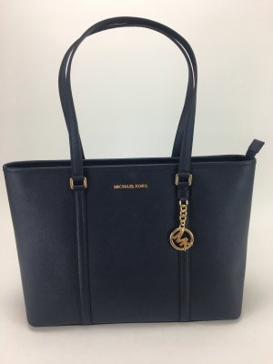Michael Kors Borsa pc blu scuro