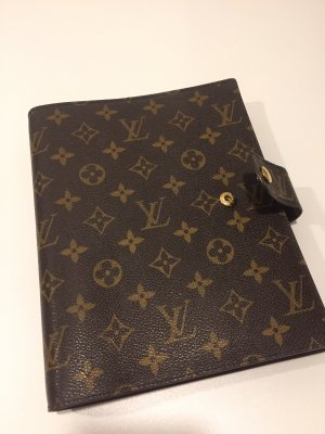 Louis Vuitton Bagage donkerbruin-brons