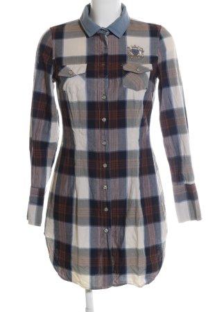 Largentina Shirtwaist dress check pattern casual look