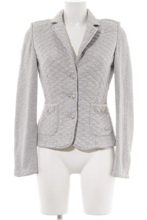 Largentina Jersey Blazer gris claro letras bordadas estilo «business»